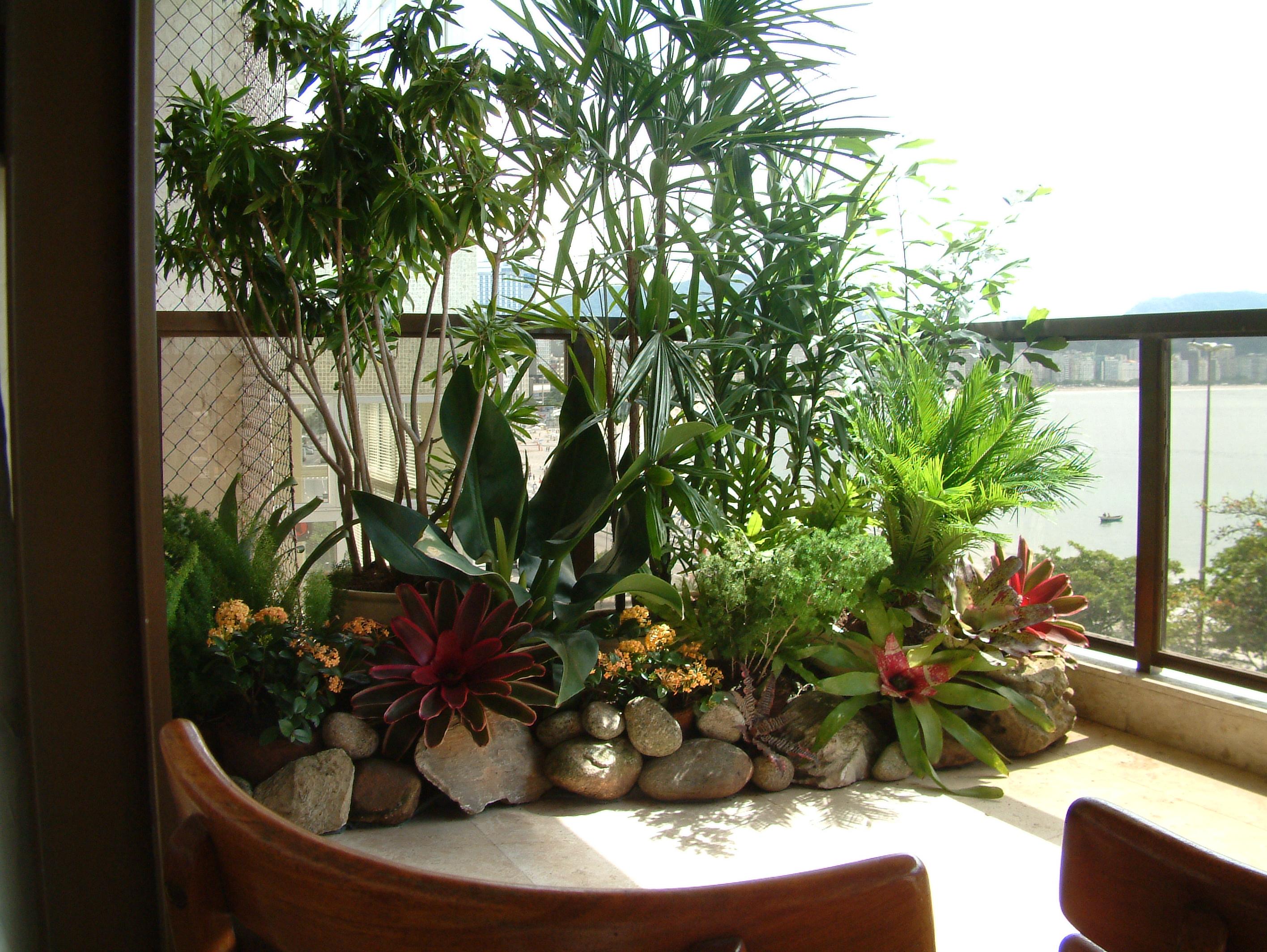 Varandas -> Decoração De Jardins Pequenos Com Flores